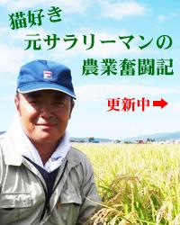 猫好き元サラリーマンの農業奮闘記